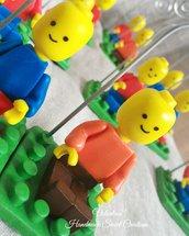 Riservata- statuine portafoto lego