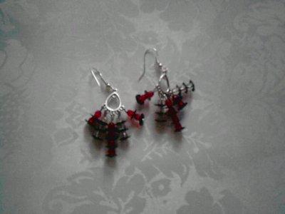 orecchini con monachella