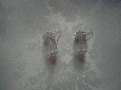 orecchini perla con coppette