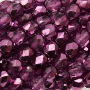 Mezzi Cristalli Violet 4mm (40pz)