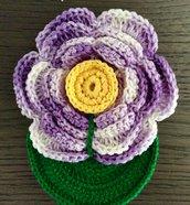 Segnalibro fiore 3D