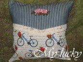 Federe cuscini ornamentali in versione romantica.