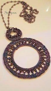 collana lunga catena rosario