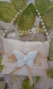 Pochette grande c/manico perle