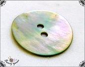 5  bottoni vintage mm.20  in vera madreperla di alta qualità