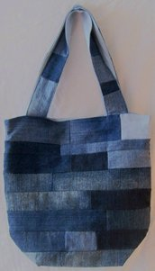 Borsa in patchwork