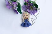 Collana Bambolina doll fimo necklace bambolina clay Kawaii  idea regalo clay