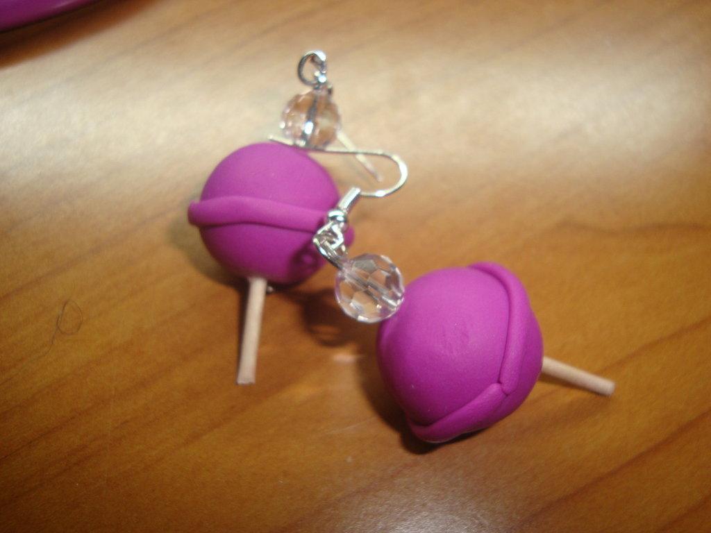 orecchini lecca-lecca