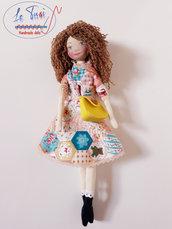 Bambola di stoffa 30 cm, Le Tusì Bambole di stoffa fatte a mano