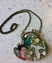 Mini Borsettina Frida Kahlo