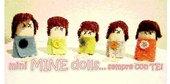 mini MINE dolls ... sempre con TE!