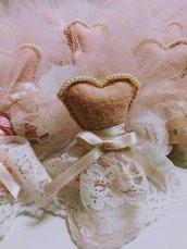 Bomboniera nascita/battesimo/compleanno vestitino