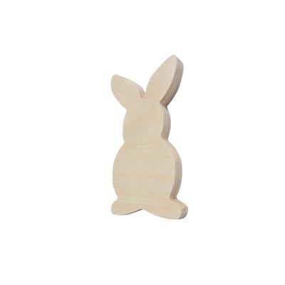 Coniglietto in legno 4 pezzi