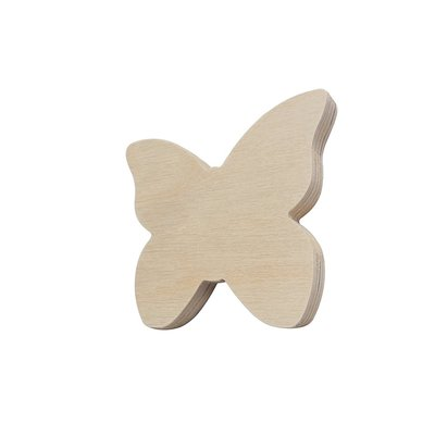 Farfalla in legno 4 pezzi