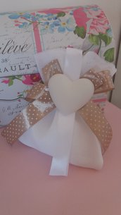 sacchetto portaconfetti con gessetto