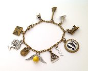 Bracciale Harry Potter, Harry Potter, Boccino D'Oro, Quidditch, Potterhead