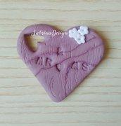 Bomboniera matrimonio, bomboniera cuore, cuore legno, finto legno, cuore segnaposto, segnaposto matrimonio, cuore matrimonio