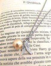 Collana Boccino D'Oro, Collana Harry Potter, Boccino D'Oro, Quidditch, Potterhead