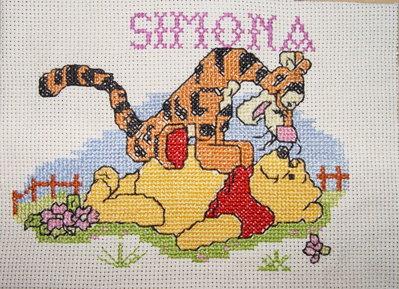 Winnie e Tigro per la stanza dei bambini