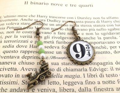 Orecchini Harry Potter, Binario 934, Harry Potter, Hogwarts, HP, Potterhead