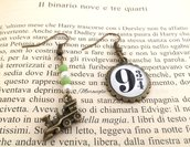 Orecchini Harry Potter, Binario 934, Harry Potter, Hogwarts, HP, Potterhead