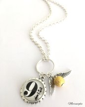 Collana Harry Potter, Collana Boccino D'Oro, Boccino, HP, Potterhead, Harry Potter