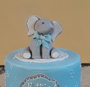 Elefantino in pasta di zucchero