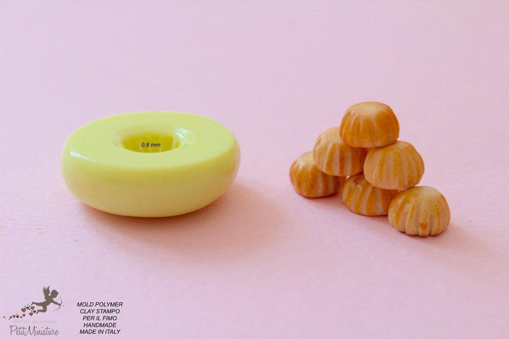 Stampi in silicone-Stampi per il fimo-Stampo biscotto cupcake-Stampo Gioielli-Stampi Silicone-Stampini in Silicone-Stampi Fimo-Fimo-Made in italy-Handmade ST016