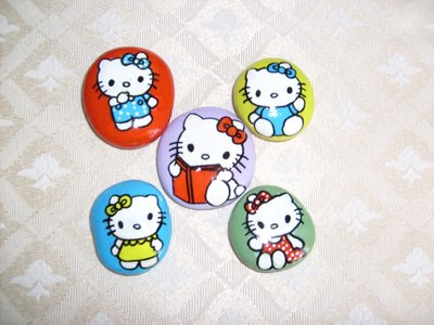 Fermacarte Hello Kitty