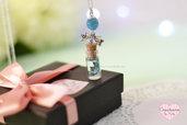 Collana con miniatura - Butterfly Dream