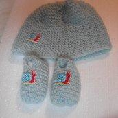 scarpine e cappello  bebè