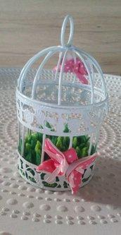 Gabbietta decorativa farfalle