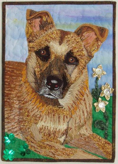 Ritratto in stoffa per il vostro animale