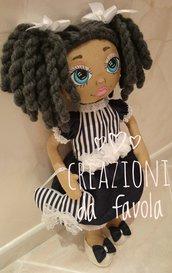Bambola Sophie di stoffa