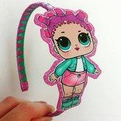 Cerchietto per capelli Lol Surprise Roller Skber