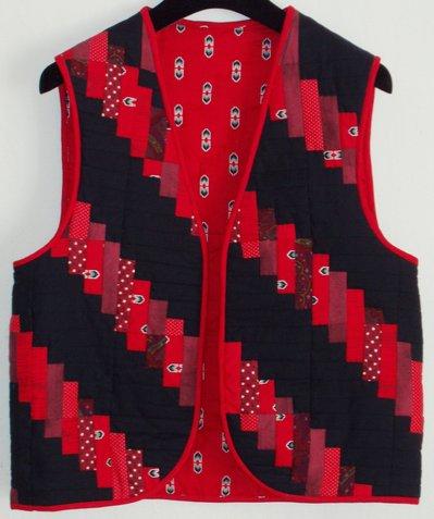 Gilet patchwork