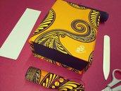 scatola portaoggetti afro