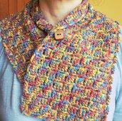 Scaldacollo in lana multicolor