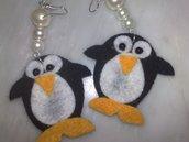 orecchini pinguino
