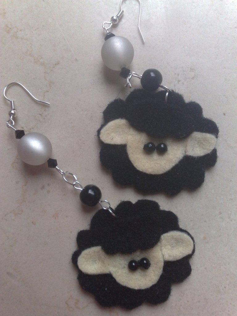 orecchini pecorelle