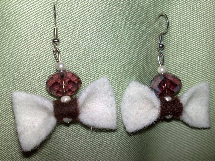 orecchini fiocchetti