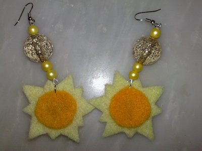 orecchini sole