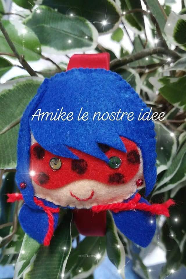 frontino/ cerchietto ladybug miraculous