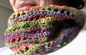 Collo ad anello a crochet
