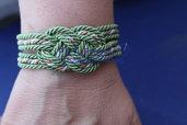 bracciale nodo marinaresco corda