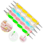LOTTO 5 Dotting Tool Stainless Steel mix color