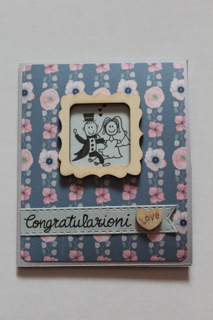 Al Matrimonio Auguri O Congratulazioni : Biglietto auguri matrimonio congratulazioni feste biglietti e