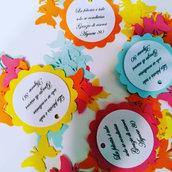 25 Tag Azzurri Etichette per matrimonio, regalo, eventi, pacchetti, battesimo