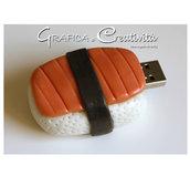 Chiavette usb decorate (hamburger, sushi, biscotto, torta)
