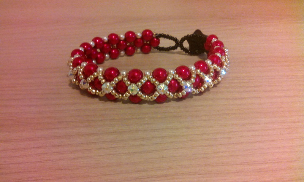 Bracciale perle red